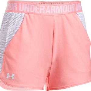 Under Armor Play Up Mesh Inset Shorts NWT